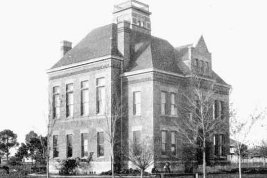 Franklin County Florida Courthouse Circa 1892