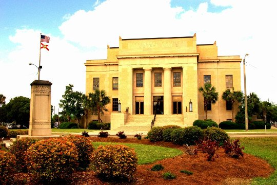 Franklin County Florida Courthouse Circa 2020